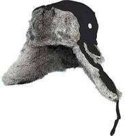 Шапка-ушанка Norfin Ardent черный, удобная, теплая
