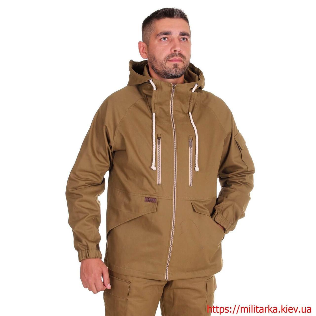 Куртка штормовка KLOST Трофей хаки