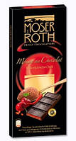 Шоколад черный Moser Roth Sauerkirisch-Chili 85% какао вишня+перец чили 187,5г