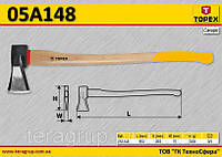 Колун деревянная рукоятка,  TOPEX  05A148