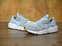 Кроссовки женские Найк Nike Air Huarache Run TXT Light Blue, фото 2