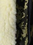 Куртка зимняя длинная Дубок с капюшоном мех + синтепон р.48-58, фото 7