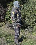 Куртка зимняя длинная Дубок с капюшоном мех + синтепон р.48-58, фото 2