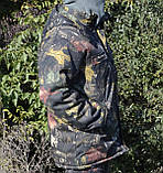 Куртка зимняя длинная Дубок с капюшоном мех + синтепон р.48-58, фото 3