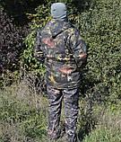 Куртка зимняя длинная Дубок с капюшоном мех + синтепон р.48-58, фото 4