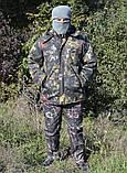 Куртка зимняя длинная Дубок с капюшоном мех + синтепон р.48-58, фото 6