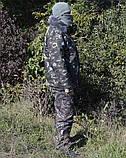 Бушлат камуфляж зимний мех + синтепон р.48-58, фото 2