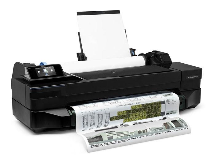 "Плоттер HP Designjet T120 24"" (А1+) ePrinter"