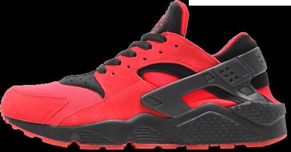 Кроссовки мужские Найк Nike Air Huarache UK Red Black . ТОП Реплика ААА класса.