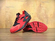 Кроссовки мужские Найк Nike Air Huarache UK Red Black . ТОП Реплика ААА класса., фото 2
