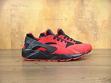 Кроссовки мужские Найк Nike Air Huarache UK Red Black . ТОП Реплика ААА класса., фото 3