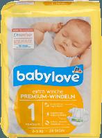 Вabylove Подгузники Premium размер 1 newborn SS 2-5 кг 28 шт