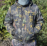 Куртка зимняя под резинку Дубок с капюшоном мех + синтепон р.48-58, фото 6