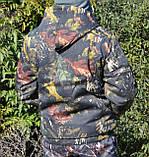 Куртка зимняя под резинку Дубок с капюшоном мех + синтепон р.48-58, фото 8
