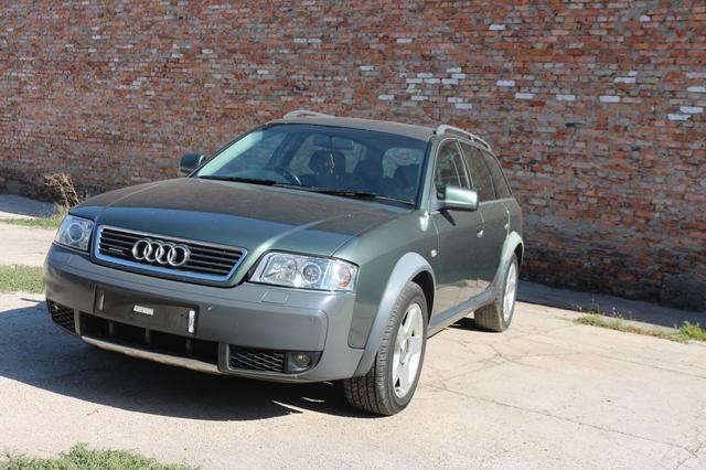 Audi A6 C5 Allroad  2.5 tdi Quattro (AKE) АКПП (EYJ) 2003г 242 т.км