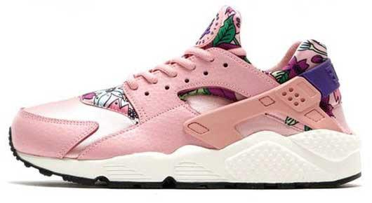 Кроссовки женские Найк  Nike WMNS Air Huarache Run Print Pink. ТОП Реплика ААА класса.