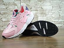 Кроссовки женские Найк  Nike WMNS Air Huarache Run Print Pink, фото 2