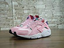 Кроссовки женские Найк  Nike WMNS Air Huarache Run Print Pink, фото 3
