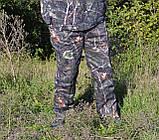 Куртка зимняя под резинку Дубок с капюшоном светлый мех + синтепон р.48-58, фото 6