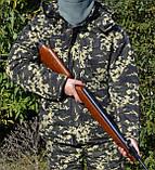 Костюм зимний куртка длинная + штаны Пиксель р.48-58, фото 4