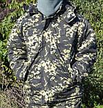 Костюм зимний куртка длинная + штаны Пиксель р.48-58, фото 6