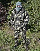 Костюм зимний куртка + штаны Пиксель р.48-58, фото 1