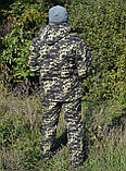 Костюм зимний куртка длинная + штаны Пиксель р.48-58, фото 2