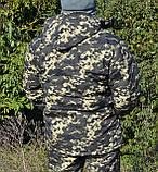 Костюм зимний куртка длинная + штаны Пиксель р.48-58, фото 7