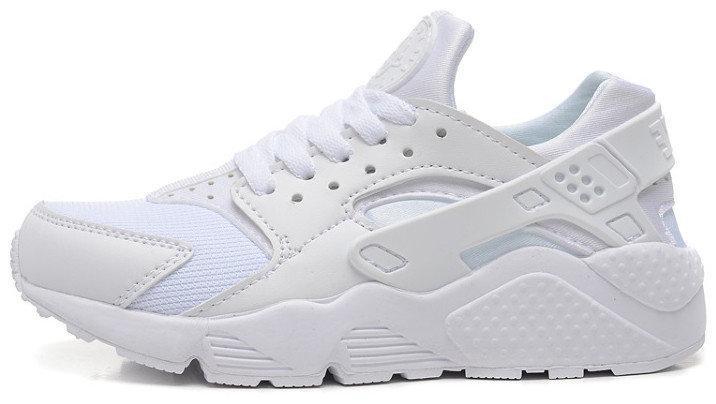Кроссовки мужские Найк Nike Air Huarache Full White. ТОП Реплика ААА класса.