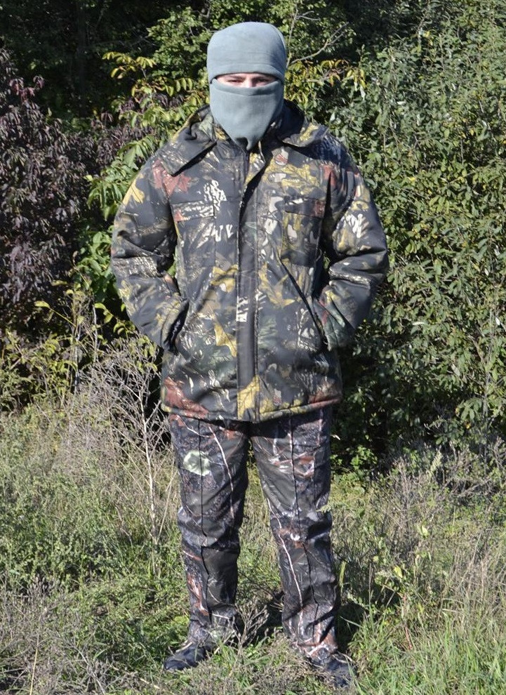 Костюм зимний куртка длинная + штаны Дубок р.48-58
