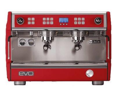 Кофемашина Dalla Corte EVO2 sparkling red