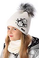 Зимняя шапка для девочки, MARIKA (Польша) 2181
