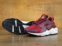 Кроссовки женские Найк Nike Huarache Run Print Garnet Crimson, фото 3