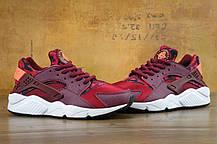 Кроссовки женские Найк Nike Huarache Run Print Garnet Crimson, фото 2