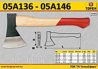 Топор деревяная рукоятка m-1.6кг,  TOPEX  05A146
