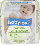 Babylove Wickelunterlagen Детские одноразовые пеленки 10 шт