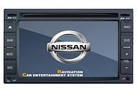 Штатная автомагнитола в автомобили Nissan Qashqai/ Hyundai Universal, фото 1