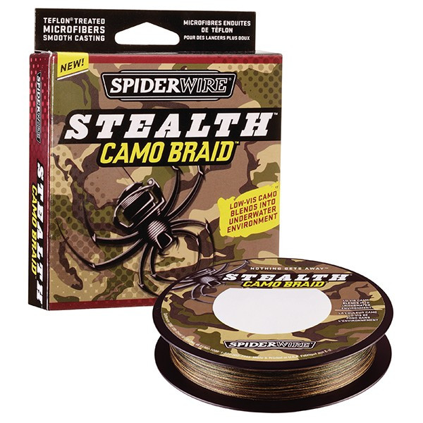 Шнур Spiderwire Stealth САМО BRAID 110m 0.12mm