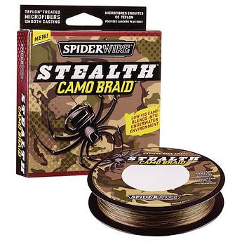 Шнур Spiderwire Stealth САМО BRAID 110m 0.12mm