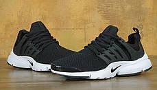 Кроссовки мужские Найк Nike  Air Presto Black/White, фото 2