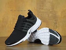 Кроссовки мужские Найк Nike  Air Presto Black/White, фото 3