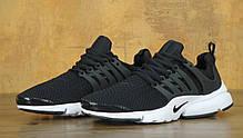 Кроссовки мужские Найк Nike  Air Presto Black/White. ТОП Реплика ААА класса., фото 3