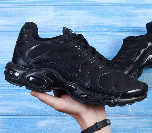 "Мужские кроссовки Nike Air Max Tn+ Plus ""Black"", фото 2"