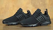 Кроссовки мужские Найк Nike Air Presto ID 'Triple Black'. ТОП Реплика ААА класса., фото 3