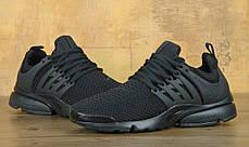 Кроссовки мужские Найк Nike Air Presto ID 'Triple Black', фото 3