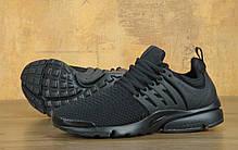 Кроссовки мужские Найк Nike Air Presto ID 'Triple Black'. ТОП Реплика ААА класса., фото 2