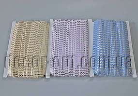 Резинка для повязок волна с блеском 1,5см/30ярд