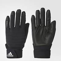 Теплые мужские перчатки Adidas Climawarm BP6530 - 2017/2