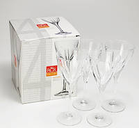 Бокалы для вина RCR Fusion 250мл 6шт
