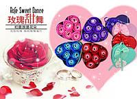 Натуральное мыло ручной работы Сердце шесть бутонов роз коробка метал